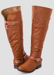 womens boots extended calf sizes wide width wide calf the knee boot wide width s