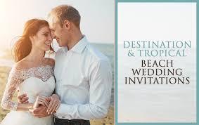 wedding invitations beach reception invitations invite card