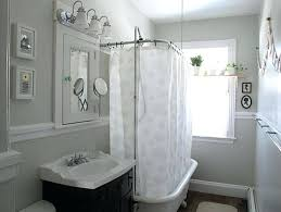 bathroom with shower curtains ideas high end shower curtains teawing co