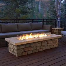 Deck Firepit Found It At Wayfair Sedona Propane Pit Table Pinteres