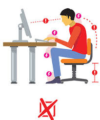 Computer Desk Posture How To Sit At A Desk And Improve Your Posture When Sitting
