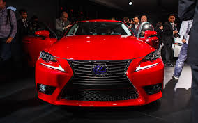 red lexus is 250 2014 first look 2014 lexus is250 and is350 automobile magazine