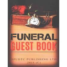 funeral guest books funeral guest book walmart