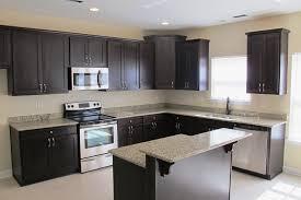 dark stone backsplash 12 spectacular dark kitchen cabinets with light floors house and