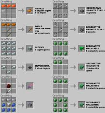 Minecraft Crafting Table Guide M Ore Mod 1 9 1 8 1 7 10 Mods For Minecraft