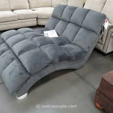 Chaise Lounge Sofa Bed S Shaped Chaise Double Chaise Lounge Indoor Fabric Costco On Grey