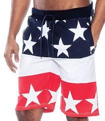 American Flag Swimming Trunks True Rock Men U0027s Usa American Flag Independence Day Elastic Waist