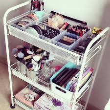 my new ikea makeup vanity diy style ikea drawers makeup