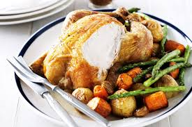 roasted veggies thanksgiving super easy roast chicken and vegetables