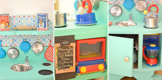 cuisine enfant fait maison diy une cuisine enfant en bois à fabriquer à partir de récup