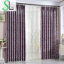Yellow And Purple Curtains Soul White Yellow Purple Mauve Grey Modern European Jacquard