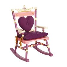 Levels Of Discovery Bookcase Princess Mini Rocking Chair By Levels Of Discovery