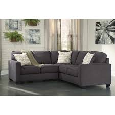 signature design by ashley alenya charcoal 2 piece sectional sofa