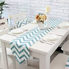zig zag table runner amazon com uphome 1pc classical chevron zig zag pattern table