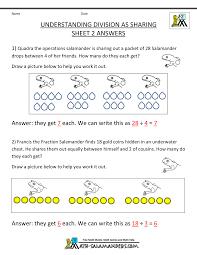 Division Worksheet Without Remainders Second Grade Division Worksheets