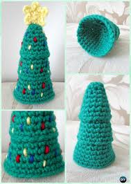 diy crochet christmas ornament free patterns