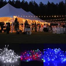 mains powered 10m string fairy lights xmas garden wedding party