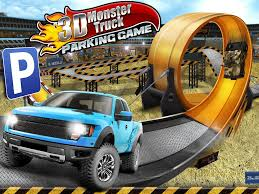 monster truck game video 3d monster truck parking game android apps on google play