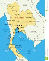 Thailand World Map by Kingdom Of Thailand Vector Map Stock Images Image 35047804