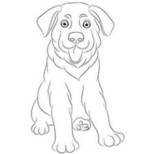 german shepherd coloring pages free daisies flower outline clip art jewelry design pinterest