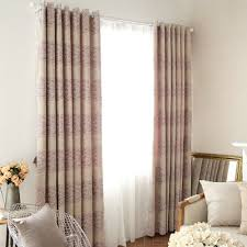 Noise Insulating Curtains Pink Purple Thermal Insulated Noise Reducing Energy Saving Curtains