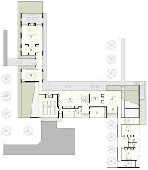 shingle clad house by bates masi mimics long island barns piersons way by bates masi architects lower level floor plan