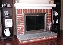 paint colors that go with brick fireplace home design ideas