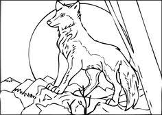 download print printable free wolf coloring pages adults