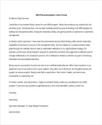 sample recommendation letter format 8 free documents in pdf doc
