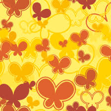 free yellow butterfly background tile 1009