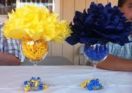 easy graduation centerpieces 2013 msw graduation decorations i like the glass idea not sure