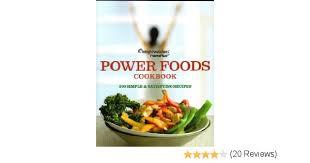 weight watchers pointsplus power foods cookbook amazon com books