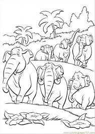 indian elephant colouring pages coloring