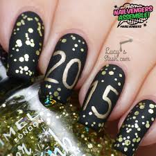 nailvengers assemble new year u0027s eve nails lucy u0027s stash