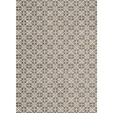Pet Resistant Rugs Ruggable Washable Floral Tiles Rich Grey 5 Ft X 7 Ft Stain