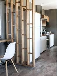 cloison pour separer une chambre etagere pour separer une sacparation de piace en bois cloison