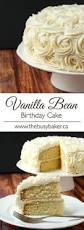 favorite vanilla bean cake recipe vanilla bean cakes vanilla