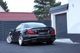 lowered mercedes crown jewel for mercedes benz cl cls and sl from pp exclusive