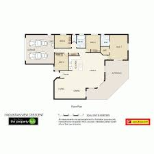 Mountain View Floor Plans by 3 Mountain View Crescent Mount Warren Park Qld 4207 For Sale