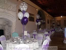 balloon table decorations wedding decorations at ashton court