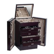 Tall Jewelry Armoire Jewelry Holders Cases All Fine Jewelry For Jewelry U0026 Watches