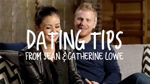 dating tips from the bachelor u0027s sean u0026 catherine lowe youtube