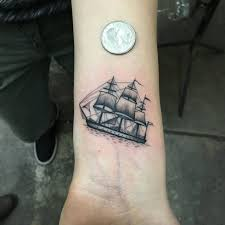 50 amazing ship tattoos you won u0027t believe are real tattoo