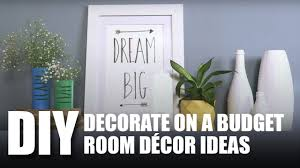decorate on a budget room decor diy mad stuff with rob youtube