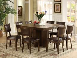 Glass Dining Table Set 8 Chairs Dining Room Wonderful Square Dining Room Table Sets 8 With