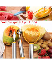 fruit carving and decorating tools