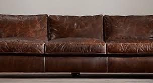Restoration Hardware Recliner Sofa Alluring Leather Sofas At Restoration Hardware Impressive
