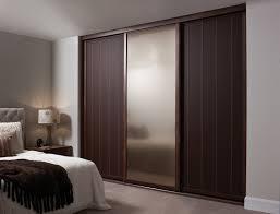 Bedroom Closet Doors Ideas Closet Storage Fancy Wooden Sliding Door Wardrobe Designs For