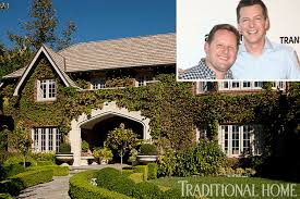 Angelina Jolie Mansion by Inside Sean Hayes U0027 Renovated Tudor Style Mansion Page Six