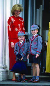 princess diana the model mother of young princes william and harry